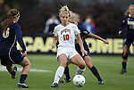 03 December 2010: Ohio State's Paige Maxwell (10). The Notre Dame Fighting Irish defeated the Ohio State University Buckeyes 1-0 at WakeMed Stadium in Cary, North Carolina in an NCAA Women's College Cup semifinal game.