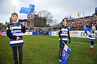 A general view of the pre-match Guard of Honour. Aviva Premiership match, between Bath Rugby and Exeter Chiefs on December 31, 2016 at the Recreation Ground in Bath, England. Photo by: Patrick Khachfe / Onside Images