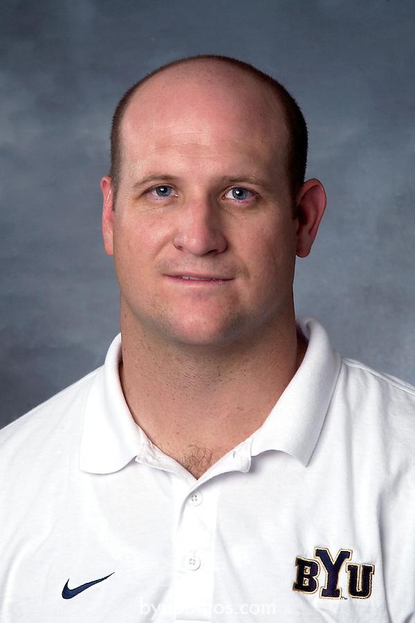 Steven McKane<br /> BYU Football Defense Coach<br /> July 7, 2004<br /> <br /> Photo by Annie Jones/BYU