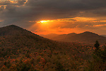 Adirondack Sunset, Adirondack Park, New York, USA