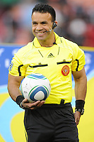 MLS referee Hilario Grajeda.    DC United defeated The Seattle Sounders 2-1 at  RFK Stadium, Wednesday May 4, 2011.
