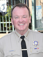 Los Angeles, CA - NOVEMBER 23: Sheriff Jim McDonnell, At Los Angeles Mission Thanksgiving Meal For The Homeless At Los Angeles Mission, California on November 23, 2016. Credit: Faye Sadou/MediaPunch
