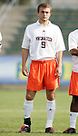 Virginia Tech's Marcus Reed on Wednesday, November 9th, 2005 at SAS Stadium in Cary, North Carolina. The Duke University Blue Devils defeated the Virginia Tech Hokies 2-0 during their Atlantic Coast Conference Tournament Quarterfinal game.