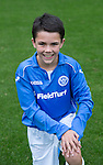 St Johnstone FC Academy U14's<br /> Aaron Carlan<br /> Picture by Graeme Hart.<br /> Copyright Perthshire Picture Agency<br /> Tel: 01738 623350  Mobile: 07990 594431