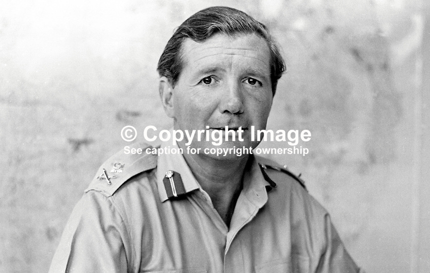 Major General Robert Ford Commander Land Forces N Ireland