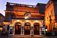 The Theatre Royal, Bath, UK, October 19, 2007. The city of Bath is famed for it's hot springs (the only in the UK) and it's Georgian architecture. The city is a UNESCO World Heritage Site.