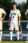 28 August 2015: FIU's Paul Marie (FRA). The University of North Carolina Tar Heels hosted the Florida International University Panthers at Fetzer Field in Chapel Hill, NC in a 2015 NCAA Division I Men's Soccer match. North Carolina won the game 1-0