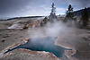 Blue Star Spring in Upper Geyser Basin, Yellowstone National Park, Wyoming