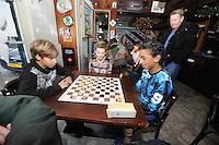 FRIESE SPORTEN: GROU: 18-12-2016, Friese Sporten Festijn, Friesdammen, ©Foto Martin de Jong