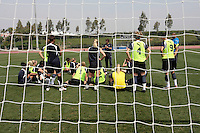 19 March 2009:  of the Los Angeles SOL Women's Soccer Team  during a mid-day pre-season practice at the Track and Field stadium at Home Depot Sports Complex in Carson, California.