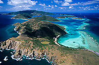 Eustatia Sound aerial<br />