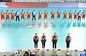 Japan team group (JPN), OCTOBER 29, 2011 - Handball : Asian Men's Qualification for the London 2012 Olympic Games match between Japan 46-15 Kazakhstan in Seoul, Soth Korea.  (Photo by Takahisa Hirano/AFLO)