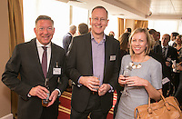 From left are David Cracknell of Inter County Services, Andrew Argyle of Potter Clarkson and Jenny Wing of Nottinghamshire Hospice