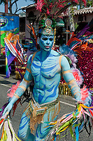 Male, Blue Avatar, Makeup, LA Pride 2010 West Hollywood, CA Parade