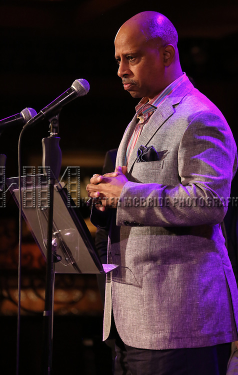 Ruben Santiago-Hudson attends 2017 New York Drama Critics' Circle Awards Reception at Feinstein's/54 Below on May 18, 2017 in New York City.