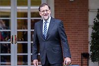 Rajoy's New Government at Moncloa Palace