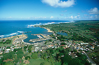Haleiwa from the air. photo:  joliphotos.com