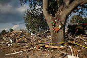 New Orleans, Louisiana.May 25, 2006..Debris from hurricane Katrina in the Lower 9th Ward still remains untouched as hurricane season approaches....