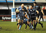 Gareth Thomas breaks for Cardiff. Cardiff Blues V Glasgow Warriors, Magners league. © Ian Cook IJC Photography iancook@ijcphotography.co.uk www.ijcphotography.co.uk