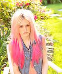 Model Charlotte Free, photo shoot for The Daily Dan magazine 07/2012.