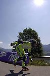 1. Inline Downhill Weltmeisterschaft, Zell am See (Austria) Simon Sharp (Swiss)