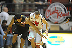 Ole Miss' Jarvis Summers (32) vs. Ole Miss' Marshall Henderson (22) at the C.M. &quot;Tad&quot; Smith Coliseum on Saturday, January 12, 2013. Ole Miss defeated #10 ranked Missouri 64-49.