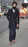 FEB 11 Waris Ahluwalia Seen in NYC