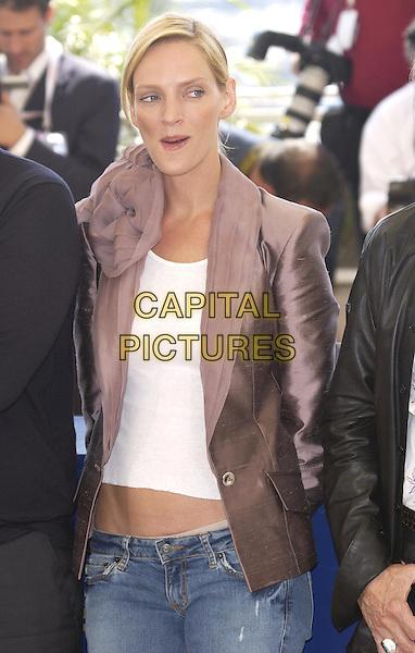 "... Film Festival, photocall for ""Kill Bill: Volume 2""   CAPITAL PICTURES Killbill"