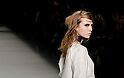 March 19th, 2012: Tokyo, Japan  A model walks down the catwalk wearing KAMISHIMA CHINAMI during Mercedes-Benz Fashion Week Tokyo 2012 - 13 Autumn/Winter. The Mercedes-Benz Fashion Week Tokyo runs from March 18-23. (Photo by Yumeto Yamazaki/AFLO).