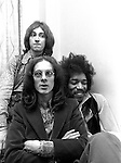 Jimi Hendrix Experience, 1967 Noel redding, Jimi Hendrix and Mitch Mitchell