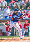 4 March 2016: Houston Astros infielder Luis Valbuena in action during a Spring Training pre-season game against the St. Louis Cardinals at Osceola County Stadium in Kissimmee, Florida. The Astros defeated the Cardinals 6-3 in Grapefruit League play. Mandatory Credit: Ed Wolfstein Photo *** RAW (NEF) Image File Available ***