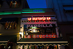 La Brigada, a restaurant that serves traditional Argentinian food, in Buenos Aires, Argentina