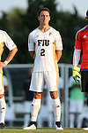 28 August 2015: FIU's Thibault Civalier (FRA). The University of North Carolina Tar Heels hosted the Florida International University Panthers at Fetzer Field in Chapel Hill, NC in a 2015 NCAA Division I Men's Soccer match. North Carolina won the game 1-0