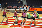 "Dancers perform at halftime of Ole Miss vs. Belmont at the C.M. ""Tad"" Smith Coliseum in Oxford, Miss. on Sunday, December 16, 2012. Ole Miss won 63-48."