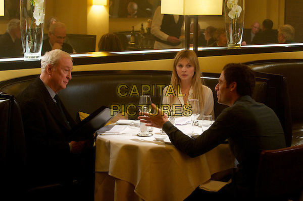 Michael Caine, Clemence Poesy, Justin Kirk<br /> in Last Love (2013) <br /> (Mr. Morgan's Last Love)<br /> *Filmstill - Editorial Use Only*<br /> CAP/FB<br /> Supplied by Capital Pictures