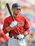 7 March 2011: Houston Astros' outfielder J.D. Martinez on deck during a Spring Training game against the Washington Nationals at Space Coast Stadium in Viera, Florida. The Nationals defeated the Astros 14-9 in Grapefruit League action. Mandatory Credit: Ed Wolfstein Photo
