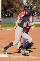 SAN ANTONIO, TX - FEBRUARY 25, 2017: The University of Texas at San Antonio Roadrunners fall to the University of New Mexico Lobos 5-4 at UTSA Roadrunner Field. (Photo by Jeff Huehn)