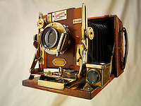 Sanderson tropical Half Plate wooden View Camera