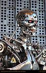 Terminator T-800, Universal Studios Hollywood, Los Angeles, California