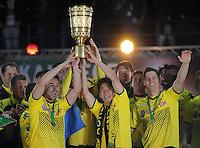 Fussball DFB Pokalfinale 2012: Borussia Dortmund - FC Bayern Muenchen