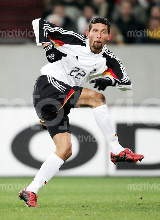 Fussball  Deutsche Nationalmannschaft  Saison 2004/2005    Kevin KURANYI deutscher Nationalspieler