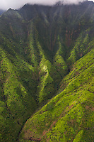 Kaua'i's Mt. Wai'ale'ale is known as one of the wettest, if not the wettest, places on Earth.