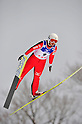 Yoshiko Kasai (JPN),.MARCH 3, 2012 - Ski Jumping : FIS Ski Jumping World Cup Ladies in Zao, Individual the 12th Competiiton HS100 at Jumping Hills Zao,Yamagata ,Japan. (Photo by Jun Tsukida/AFLO SPORT) [0003].