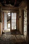 Upstairs Hallway of the Buck Hill Falls Inn in the Pocono's of Pennsylvania
