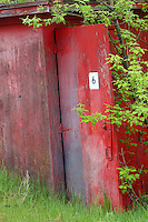 Storage Shed on Abandoned Factory Property