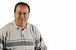 WATERBURY, CT -03 January 2005 -010306JS09---Republican-American sports reporter Rick Wilson. -- Jim Shannon Republican American --  Rick Wilson are CQ