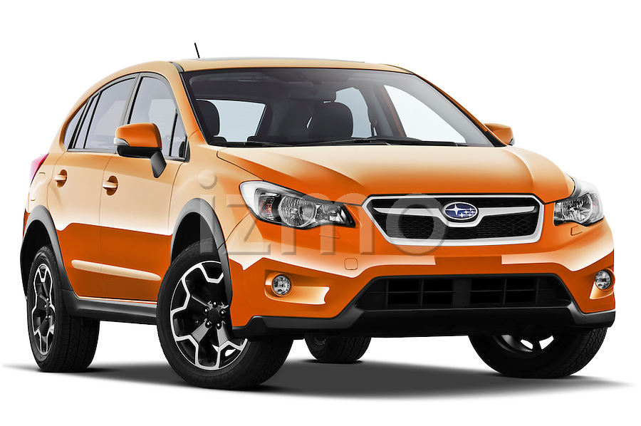 side front three quarter view of a 2012 Subaru XV Executive SUV