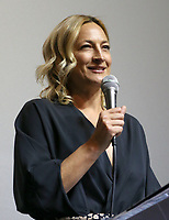BEVERLY HILLS, CA - April 20: Zoe Bell, At Artemis Women in Action Film Festival - Opening Night Gala_Inside At The Ahrya Fine Arts Theatre In California on April 20, 2017. Credit: FS/MediaPunch