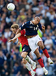 Chris Iwelumo and Frederik Winsnes