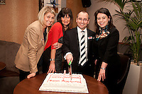 From left are Rachael Parker, Ruth Allen, Andrew Parker and Abi Selwood from Graham Penny's Nottingham office